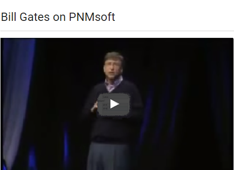 Sequence - Bill Gates on PNMsoft